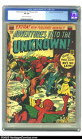 Golden Age (1938-1955):Horror, Adventures Into the Unknown #15 (ACG, 1951) CGC VF 8.0 Cream tooff-white pages. Ogden Whitney art. Overstreet 2002 VF 8.0 v...