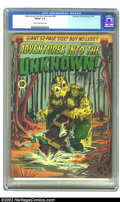 Golden Age (1938-1955):Horror, Adventures Into the Unknown #24 (ACG, 1951) CGC FN/VF 7.0 Cream tooff-white pages. Overstreet 2002 FN 6.0 value = $69; VF 8...