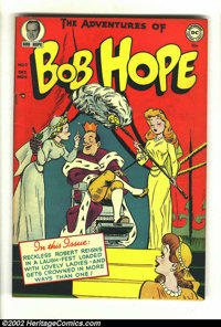 The Adventures of Bob Hope #11 (DC, 1951) Condition: FN+. This is a beautiful copy of a rarely seen issue. Tanning bring...