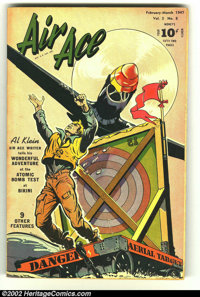 Air Ace V#3 #8 (Street & Smith, 1947) Condition: FN. Vol. 5 #8 on cover. Bob Powell cover and art. Overstreet 2002 F...