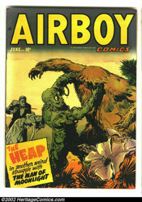 Airboy Comics Vol. 9 #5 (#100) (Hillman Fall, 1952) Condition: FN/VF. Very cool Heap cover. Overstreet 2002 FN 6.0 value...