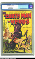 Golden Age (1938-1955):Science Fiction, An Earth Man on Venus nn (Avon, 1951) CGC VF- 7.5 Cream tooff-white pages. Gorgeous Wally Wood interior art awaits theluck...