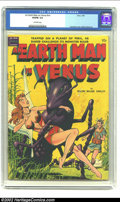 Golden Age (1938-1955):Science Fiction, An Earth Man on Venus nn (Avon, 1951) CGC VG/FN 5.0 Off-whitepages. Fawcette provides the cover and Wally Wood provides the...