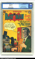 Golden Age (1938-1955):Superhero, Batman #68 (DC, 1951) CGC VG/FN 5.0 Cream to off-white pages. Two-Face cover and story. Full page ad for House of Mystery...