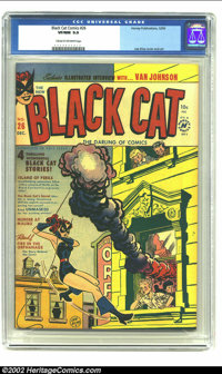 Black Cat #26 (Harvey, 1950) CGC VF/NM 9.0 Cream to off-white pages. Beautiful book with Lee Elias cover and art. Overst...