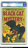 Golden Age (1938-1955):Horror, Black Cat Mystery #41 (Harvey, 1952) CGC FN/VF 7.0 Cream tooff-white pages. Bob Powell art. Overstreet 2002 FN 6.0 value = ...