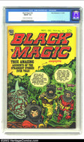 Golden Age (1938-1955):Horror, Black Magic #33 (Prize, 1954) CGC FN/VF 7.0 Cream to off-whitepages. Simon and Kirby band together to give us yet another c...