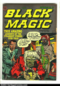 Golden Age (1938-1955):Horror, Black Magic v2 #10 (Prize, 1952) Condition: VG/FN. Here is anothergreat horror comic from this beautiful collection. Overst...