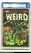 Golden Age (1938-1955):Horror, Blue Bolt Weird Tales #114 (Star Publications, 1952) CGC FN+ 6.5Cream to off-white pages. L. B. Cole cover, Jay Disbrow art...