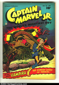 Captain Marvel Jr. #116 (Fawcett, 1952) Condition: FN-. Extremely rare later issue featuring Vampira. Overstreet 2002 FN...
