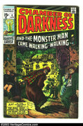 Bronze Age (1970-1979):Horror, Chamber of Darkness #4 (Marvel, 1970) Condition: VF. Conanprototype by Barry Smith. Overstreet 2002 VF 8.0 value = $38....