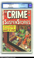 Golden Age (1938-1955):Crime, Crime SuspenStories #9 Gaines File copy Certificate Missing (EC, 1952) CGC NM+ 9.6 Off-white to white pages. Johnny Craig co...