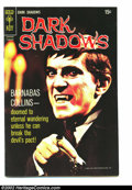 Silver Age (1956-1969):Horror, Dark Shadows #4 (Gold Key, 1970) Condition: VF. The black photocover on this issue makes it nearly impossible to find in th...