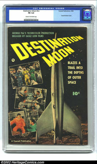 Destination Moon #nn (Fawcett, 1950) CGC FN 6.0 Cream to off-white pages. This is the movie adaptation of George Pal's s...