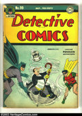 Golden Age (1938-1955):Superhero, Detective Comics #99 (DC, 1945) Condition: GD/VG. Great Penguin cover! Overstreet 2002 GD 2.0 value = $113; FN 6.0 value = $...