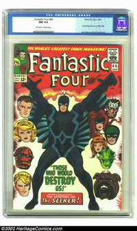 Fantastic Four #46 (Marvel, 1966) CGC NM 9.4 Off-white to white pages. Inhumans appearance. First full appearance of Bla...