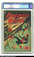 Golden Age (1938-1955):Science Fiction, Fantastic Worlds #7 (Standard, 1953) CGC FN/VF 7.0 Cream tooff-white pages. Overstreet 2002 FN 6.0 value = $60; VF 8.0 valu...