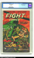 Golden Age (1938-1955):War, Fight Comics #83 Cosmic Aeroplane pedigree (Fiction House, 1952) CGC VF 8.0 Off-white to white pages. Overstreet 2002 VF 8.0...