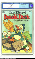 Golden Age (1938-1955):Funny Animal, Four Color #408 (Dell, 1952).CGC VF 8.0 Off-white pages This is abeautiful copy of a Carl Barks duck classic. Overstreet 20...