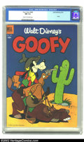 Golden Age (1938-1955):Cartoon Character, Four Color #468 (Dell, 1953) CGC NM 9.4 Cream to Off-white pages.The Overstreet Price Guide designates this as Goofy #1...