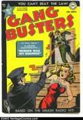 Golden Age (1938-1955):Crime, Gang Busters #1 (DC, 1947) Condition: Apparent VG+ 4.5. Based on a hit radio show. Hard to find first issue. Color touches o...