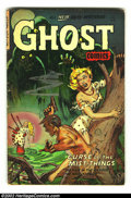 Golden Age (1938-1955):Horror, Ghost Comics #8 (Fiction House, 1953) Condition: GD/VG. Overstreet2002 GD 2.0 value = $33; FN 6.0 value = $99....
