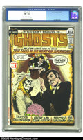 Bronze Age (1970-1979):Horror, Ghosts #1 (DC, 1971) CGC VF- 7.5 Cream to Off-white pages. Firstissue of this long running DC title is a 52 Page Giant and ...