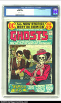"""Bronze Age (1970-1979):Horror, Ghosts #6 (DC, 1972) CGC VF/NM 9.0 Off-white pages. Take tourthrough the Alps with DEATH, and enjoy the classic """"The Specte..."""
