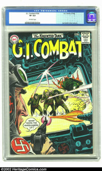 G.I. Combat #106 (DC, 1964) CGC VF 8.0 Off-white pages. The Haunted Tank is done for in this classic Kubert story. At th...
