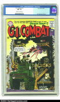 Silver Age (1956-1969):War, G.I. Combat #111 (DC, 1965) CGC NM- 9.2 Off-white to white-pages. Joe Kubert cover and artwork on this incredible Haunted Ta...