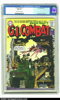 G.I. Combat #111 (DC, 1965) CGC NM- 9.2 Off-white to white-pages. Joe Kubert cover and artwork on this incredible Haunte...