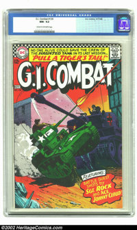 G.I. Combat #120 (DC, 1966) CGC NM- 9.2 Cream to Off-white pages. Beutiful copy of this war book with the Haunted Tank b...