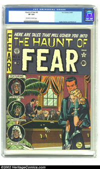 The Haunt of Fear #6 (EC, 1951) CGC VF 8.0 Off-white to white pages. Ingels, Kamen and Wood art. Overstreet 2002 VF 8.0...