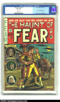 Golden Age (1938-1955):Horror, The Haunt of Fear #10 (EC, 1951) CGC VF+ 8.5 Off-white pages.Graham Ingels biography. Art by Kamen, Davis and Ingels. Overs...