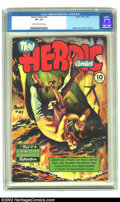 Golden Age (1938-1955):Non-Fiction, Heroic Comics #41 (Eastern Color, 1947) CGC VF- 7.5 Cream tooff-white pages. This issue has a Graham Ingels cover and inter...