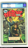 Golden Age (1938-1955):Non-Fiction, Heroic Comics #68 (Eastern Color, 1951) CGC VF/NM 9.0 Cream tooff-white pages. Howard Kiefer paints a stunning cover of a p...