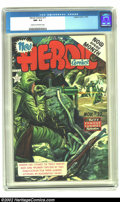 Golden Age (1938-1955):Non-Fiction, Heroic Comics #77 (Eastern Color, 1952) CGC NM- 9.2 Cream tooff-white pages. The horrors of war are shown on this Korean Wa...