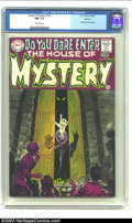Silver Age (1956-1969):Horror, House of Mystery #174 Oakland pedigree (DC, 1968) CGC NM- 9.2Off-white pages. With this issue, the series switches from sup...