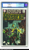 Silver Age (1956-1969):Horror, House of Mystery #177 Oakland pedigree (DC, 1968) CGC NM 9.4Off-white to white pages. Neal Adams cover. Overstreet 2002 NM ...