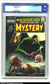 House of Mystery #192 (DC, 1971) CGC NM+ 9.6 Off-white pages. Neal Adams cover, Aparo art. Overstreet 2002 NM 9.4 value...