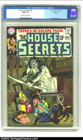Silver Age (1956-1969):Horror, House of Secrets #82 Oakland pedigree (DC, 1969) CGC NM- 9.2Off-white to white pages. Neal Adams cover. Overstreet 2002 NM ...