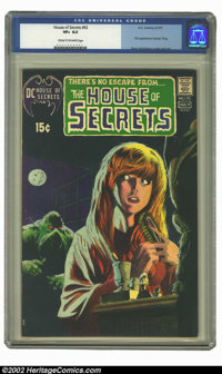 House of Secrets #92 (DC, 1971) CGC VF+ 8.5 Cream to off-white pages. Berni Wrightson classic washtone type cover. First...