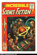 Golden Age (1938-1955):Horror, Incredible Science Fiction #30 (EC, 1955) Condition: VG+. Firstissue of this title. Overstreet 2002 GD 2.0 value = $36; FN ...
