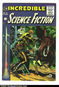 Golden Age (1938-1955):Science Fiction, Incredible Science Fiction #31 (EC, 1955) Condition: FN-. JackDavis cover and Wally Wood art. Overstreet 2002 GD 2.0 value ...