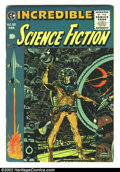 Golden Age (1938-1955):Science Fiction, Incredible Science Fiction #33 (EC, 1956) Condition: VG+. Davis,Orlando and Wood art. Overstreet 2002 GD 2.0 value = $36; F...
