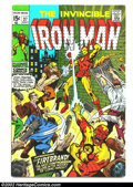Silver Age (1956-1969):Superhero, Iron Man lot (Marvel, 1968) Condition: averages VG+. 27-30, 33, 35, 37, 38, 42, 43, 48 and 50. Cool group of Silver Age Marv... (Total: 12 Comic Books Item)