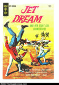 Pulps:Science Fiction, Jet Dream #1 (Gold Key, 1968) Condition: VF. Overstreet 2002 VF 8.0value = $25....
