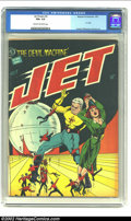 Golden Age (1938-1955):Science Fiction, Jet Powers #3 (Magazine Enterprises, 1951) CGC FN+ 6.5 Cream tooff-white pages. A-1 #35; Powell, Williamson and Evans art. ...