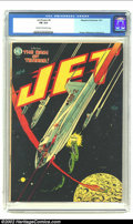 Golden Age (1938-1955):Science Fiction, Jet Powers #4 (Magazine Enterprises, 1951) CGC FN 6.0 Cream tooff-white pages. Powell, Williamson and Wood art. Overstreet ...