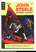 Silver Age (1956-1969):Adventure, John Steele Secret Agent #1 (Gold Key, 1964) Condition: FN/VF. Overstreet 2002 FN 6.0 value = $24; VF 8.0 value = $56....